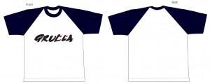 ラグランTシャツ(ネイビー)